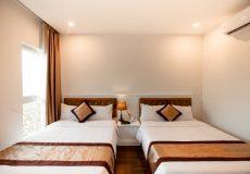 Khách sạn Pusan - giường twin